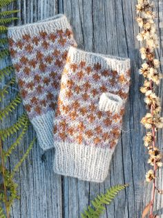 Cloudberry is a free knitted fingerless mittens pattern made with Berroco Ultra Alpaca. Download the free pattern at Berroco.com.