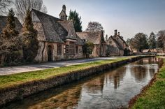 7 Places to Visit in the Cotswolds . Countryside Village, English Countryside, Monaco, Severn Valley, Portugal, Landscape Curbing, Cotswold Villages, Storybook Homes, Mountain Village