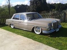 From New Zealand Oldschool benz on air - StanceWorks