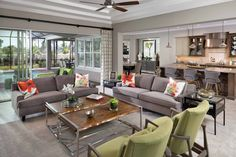 I like the idea of 1 sofa, 2 chairs, and 2 square ottomans. modern living room furniture placement and living room designs Modern Grey Bedroom, Living Room Modern, Home Living Room, Living Room Designs, Kitchen Living, Room Kitchen, Family Room Furniture, Furniture Layout, Furniture Arrangement