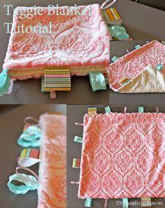 Baby Taggie Blanket Tutorial