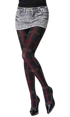 FANMENNY Patterned Tights - See more tights at www.fashion-tights.net ‪#tights #pantyhose #hosiery #nylons #fashion #legs‬ #legwear #advertising #influencer #collants