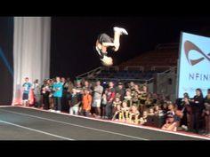 Nfinity Carolina Clash Tumbling Exhibition Cheer Extreme ACX NC SC Holden Ray Ashley Hobbs