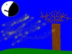 A Csodaceruza biztatására kipróbáltuk, hogyan tudjuk másként összerakni a Weöres Sándor vers szavait:      Weöres Sándor: HA VIHAR JŐ A MAGASBÓL  Ha vihar jő a magasból,Ne bocsáss el, kicsi bátyám.Ha falomb közt telihold lép,Kicsi néném, te vigyázz rám.  Falu végén… Neon, Neon Colors, Neon Tetra