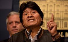 Ayyy papa!!! La historia se repite... Sera que van a colocar otro maduro en Bolivia!  Bolivia: Evo Morales permanecerá 5 días en Cuba por recomendación médica