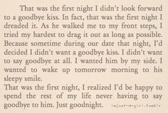 Exactly how I feel every time I leave his side. :/