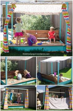 60+ DIY Sandbox Ideas and Projects for Kids - DIY & Crafts
