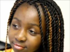 SENEGALESE TWISTS ON VIRGIN AFRO HAIR