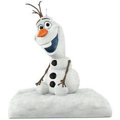 Disney's Frozen Olaf Peekbuster 2016 Hallmark Keepsake Christmas... ($20) ❤ liked on Polyvore featuring home, home decor, holiday decorations, black, disney home decor, hallmark xmas ornaments, keepsake christmas ornaments, hallmark christmas ornaments and disney ornaments
