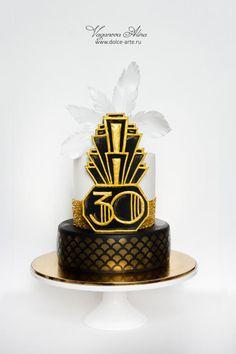 The+Great+Gatsby+cake+-+Cake+by+Alina+Vaganova