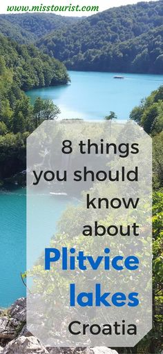 8 things you should know about Plitvice lakes2