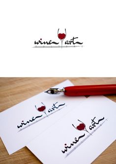 Design: Varga Balázs Project: WineArtCulture | Logo & business card design Business Card Logo, Business Card Design, Wine Art, My Works, Projects, Log Projects, Blue Prints
