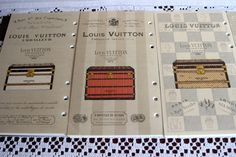 Louis Vuitton 2014 Trunks and Locks Agenda Refill