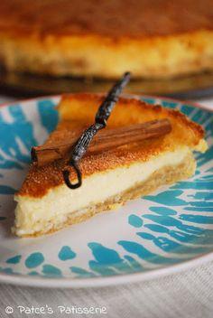 Südafrikanische Milch-Tarte mit Kokosmilch by Patces Patisserie Foodblogger Backen Welcome to the sweet side of life - Hier auf meinem Kuchenblog