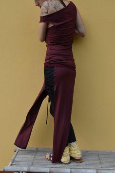 abito lungolong robe di LisaLSArt su Etsy