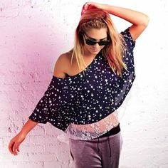 Lacey Tee Star by Sauce
