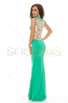 LaDonna After Party Green Dress