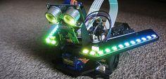 Aprende por tu cuenta a programar Arduino y Raspberry Pi con este robot #arduino #raspberrypi #makers #robotics #robot