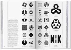 Logo Modernism, the Taschen book, by Jens Müller Logo Design Love, Corporate Logo Design, Corporate Identity, Graphic Design Inspiration, Typography Inspiration, Brand Design, Visual Identity, Graphic Design Books, Modern Graphic Design