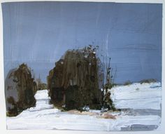 Landscape Paintings ... Harry Stooshinoff: Snow Day, December 29