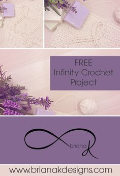 Come join us in the Briana K Community and work up a FREE Infinity Crochet Washcloth with crafty friends and support. This quick project will open the doors to a new an innovative crochet method. www.brianakdesigns.com
