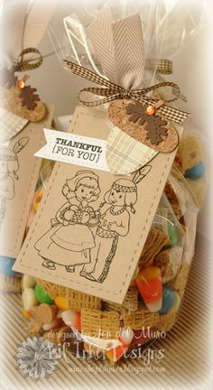 Thankful For You {with Snacks}…  from i{heart}2stamp by Jen