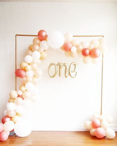 Balloon Garland Kit - Peach Blush Party Balloon Arch DIY