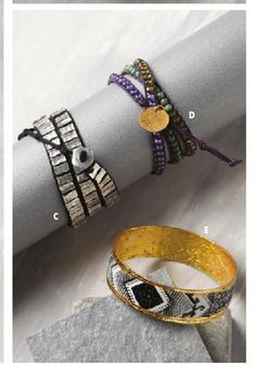 Love seeing our Aurora Wrap Bracelet in Noonday Collection's Fall catalogue! #ClippedOnIssuu from Fall 2015 Lookbook