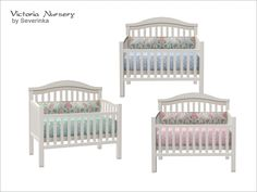 Baby Crib Found in TSR Category 'Sims 4 Kids Furniture'