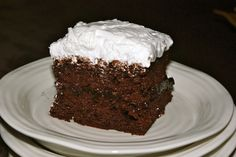 Chocolate Cake Mix Cake | Mennonite Girls Can Cook | Bloglovin