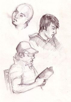 Картинки по запросу sketches of people