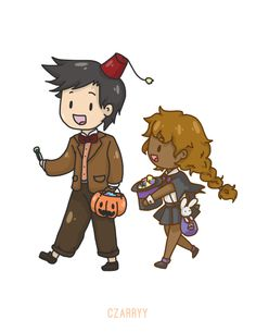 Percy (Doctor Who) and Hazel (magician?)