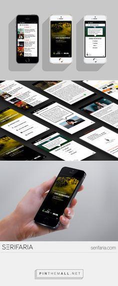 www.serifaria.com [SERIFARIA | graphic design studio] App/guia desenvolvido pela Serifaria para a exposição de Cao Guimarães no Itaú Cultural, para o visitante se orientar e enriquecer sua visita à exposição.