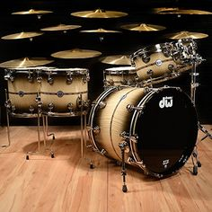 DW 45th Anniversary 10 12 14 16 22 5 Piece Drum Kit