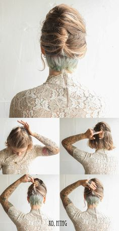 this is all i need. Ill die my undercut some bright color and be all fancy and ladylike and shit #undercut