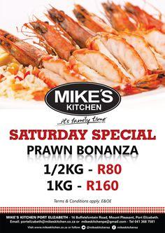 Mike's Kitchen Port Elizabeth Saturday Special Port Elizabeth, Kitchen Time, Mount Pleasant, Hot Dog Buns, Food, Essen, Yemek, Meals