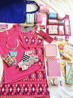 Gifts for a teenage girl. This box contains beautiful items that every teenage girl would love to have.