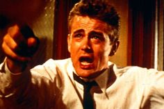 """You're tearing me apart!"", Jim Stark (James Dean), Rebel Without a Cause, 1955"