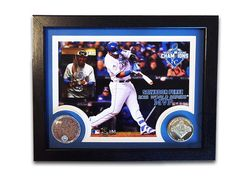 "Royals Authentics ""25 Days of Christmas Gift Ideas"" Starting day 1 with everyone's favorite catcher and your World Series MVP, Salvador Perez. This commemorative MVP frame is available in the link below."