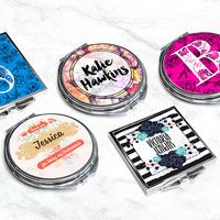 Today's Deal: Personalised Pocket Mirrors - Choose from a Range of Designs! from $8. Valued at $29.59. Buy Now & Save 76% on Treat Me Daily Deals.