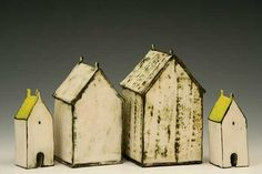 Ceramic Art | house and home: mary fischer's ceramic buildings | Daily Art Muse
