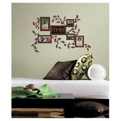 RoomMates Family Frames Peel and Stick Wall Decals