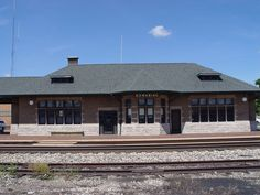 Dowagiac Depot - National Register of Historic Places listings in Michigan - Wikipedia, the free encyclopedia. Dowagiac Michigan, Train Stations, Old Trains, My Heritage, Towers, Spaces, House Styles, Beach, Free