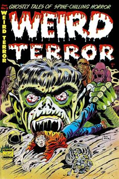 "Read ""The Weird Terror Comic Book 2 Ghostly Tales"" by Comic Media available from Rakuten Kobo. The Weird Terror Comic Book 2 is Golden Age Comics by Comic Media. There are 5 ghostly tales of spine-chilling horror. Creepy Comics, Horror Comics, Horror Art, Art Illustration Vintage, Illustrations, Cartoon Books, Comic Books Art, Caricatures, Ec Comics"