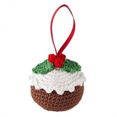 Crocheted Christmas Pudding - Carter & Brown