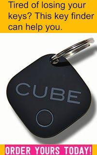 Rainy Day Shopper: CUBE Key Finder, Phone Finder, Highest Quality Ite...