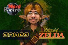 THE LEGEND OF ZELDA  - NES   GAMEPLAY PTBR -  NERD RETRÔ GAMES