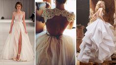 Jakie trendy panują w sezonie 2016 w sukniach ślubnych Prom Dresses, Formal Dresses, Backless, Wedding Inspiration, Victorian, Trendy, Weddings, Google, Fashion