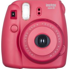 Fujifilm instax Mini 8 Instant Film Camera Raspberry (575 NOK) ❤ liked on Polyvore featuring accessories and fujifilm