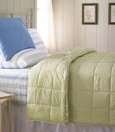 Quallofil Blanket in Fall Home 2012 from L.L. Bean
